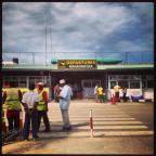 Stone Town airport in Zanzibar