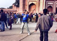 This man really captured the spirit of the Taj.