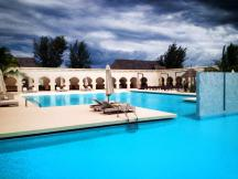 The pool at Gold Zanzibar.
