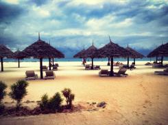 The Gold Zanzibar private beach.