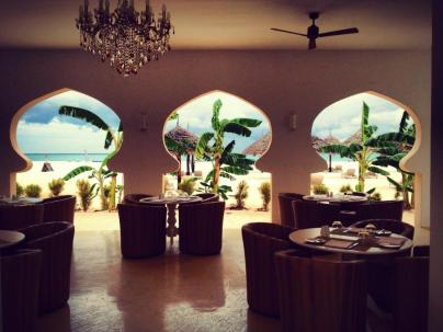 The bar at Gold Zanzibar