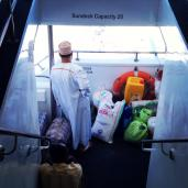 On the ferry to Stone Town from Dar Es Salaam.
