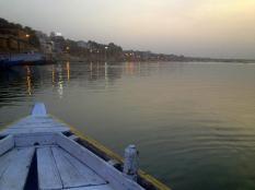 Ganges sunrise.