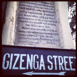 """Gizenga Street"""