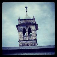 A mosque minaret.