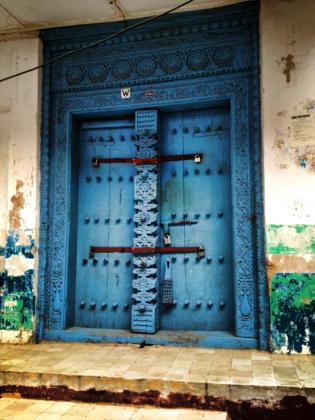 Stone Town is renowned for it's magical doors!