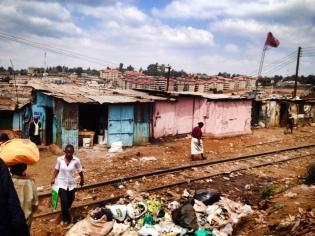 Kibera Slums.