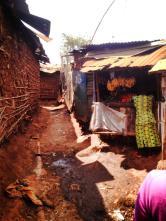 Kibera street scene.