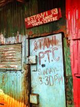 Kibera doorway.