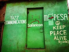 A Kibera door.
