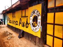 A pub in Kibera.