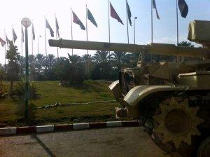 Tanks in Cairo.
