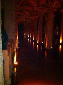 Creepy Basilica Cistern!